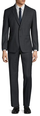 Paul SmithWool Birdseye Tailored Fit Suit