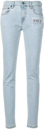 Versus low rise skinny jeans