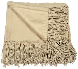 Aviva Stanoff Design Silk Fleece Throw Blanket