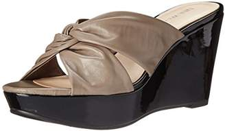 Nine West Women's Everwhat Leather Dress Sandal