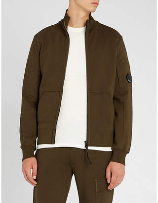 C.P. Company Lens-detail cotton-jersey zip-through jacket