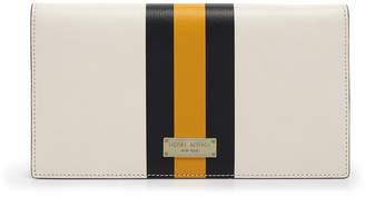 Henri Bendel West 57Th Stripe Travel Organizer Wallet