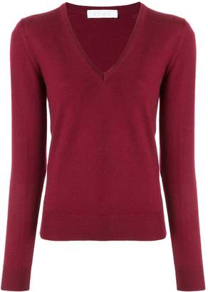 Cruciani knit V-neck sweater