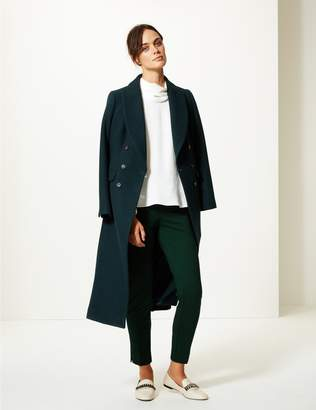 Marks and Spencer Slim Leg Ankle Grazer Trousers