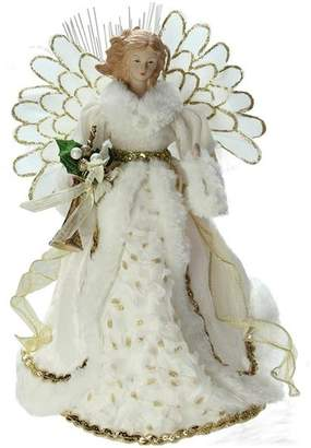 The Holiday Aisle Lighted Angel in Gown Christmas Tree Topper