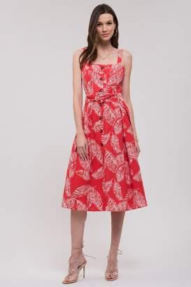 J.o.a. Button Up Dress