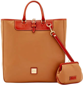 Dooney & Bourke Wexford Leather Editor's Tote & Large Frame Purse