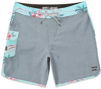 """Billabong Men's 73 X Textured Pinstripe 20"""" Board Shorts"""