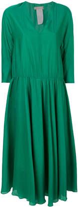 Max Mara 'S v-neck flared dress