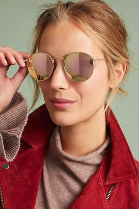 Anthropologie Coronado Round Sunglasses