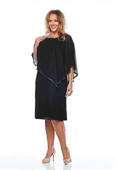 Layla Jones Spun Knit Overlay Dress
