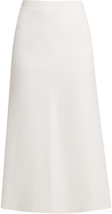 Cream A Line Skirt - ShopStyle Australia