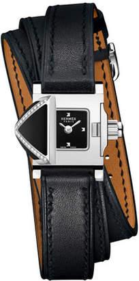 Hermes Medor Rock Watch, 16 x 16 mm