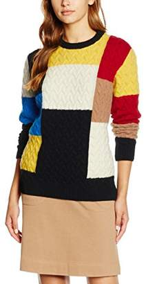 Peter Jensen Women's Patchwork Jumper