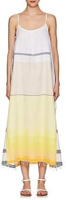 Lemlem Women's Zena Striped Cotton Maxi Slipdress