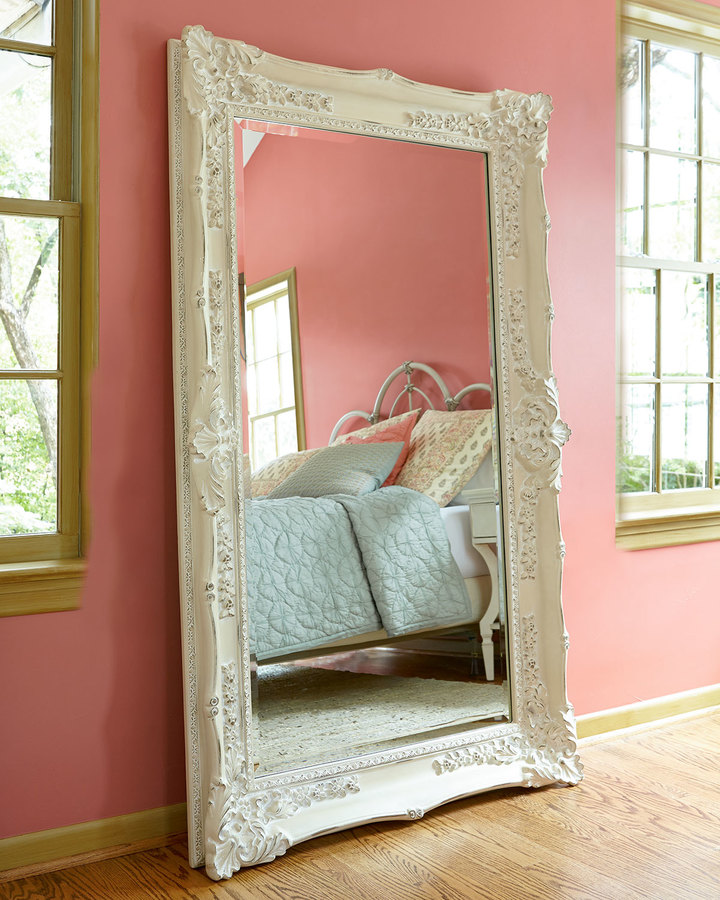 Horchow Antique White Mirror Shopstyle