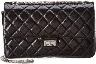Chanel Black Patent Leather 2.55 Reissue 226 Flap Bag