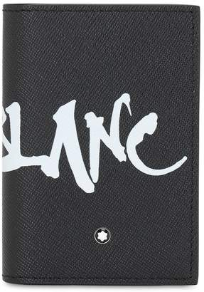 Montblanc SARTORIAL LEATHER BUSINESS CARD HOLDER