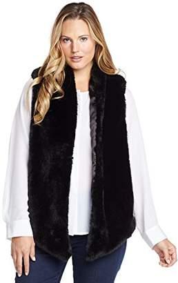 Tart Collections Women's Plus-Size Kya Fur Vest