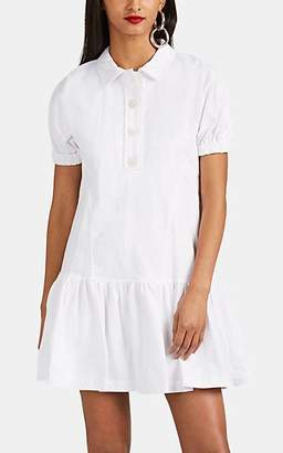 Opening Ceremony Women's Cotton Flannel Shirtdress - White