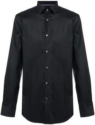 HUGO BOSS long-sleeve fitted shirt