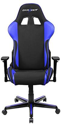 DXRacer USA LLC DXRacer OH/FH11/NI Formula Series Black and Indigo Gaming Chair - Includes 2 free cushions and Lifetime warranty on frame