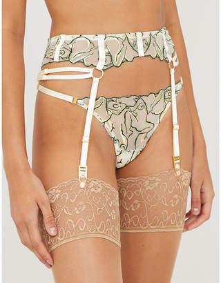 Bordelle Moa lace suspender belt