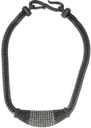 Giles & Brother Crystal Collar Necklace $95 thestylecure.com