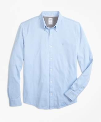 Brooks Brothers Supima Button-Down Knit Shirt