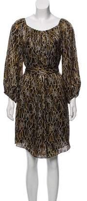Diane von Furstenberg Silk Catalina Dress