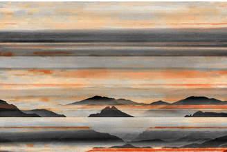 Parvez Taj Desert Mountains Canvas Wall Art