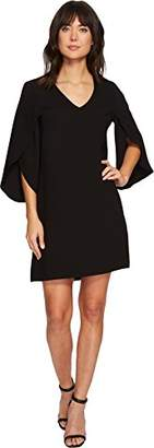 Karen Kane Women's Split-Sleeve Shift Dress