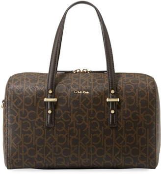 Iconic American Designer Matilda Monogram Satchel Bag