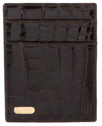 Fendi Alligator & Leather Wallet