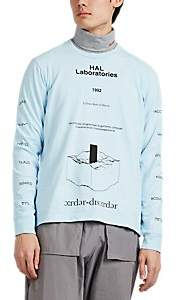 Undercover Men's Graphic Cotton Long-Sleeve T-Shirt - Lt. Blue