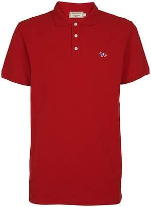 MAISON KITSUNÉ Logo Polo Shirt