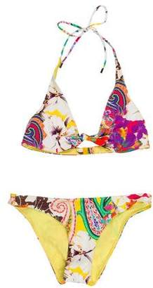 Etro Printed Two-Suit Swimsuit w/ Tags
