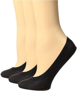Hue Perfect Edge Liner 3-Pack Women's Crew Cut Socks Shoes