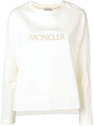Moncler loose fit logo sweatshirt