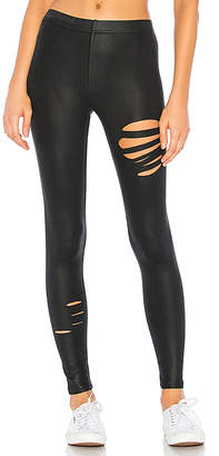 David Lerner Coated Ripped Legging