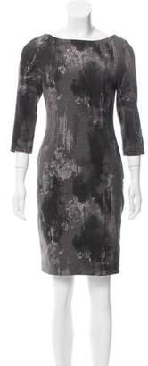 L'Agence Printed Mini Dress