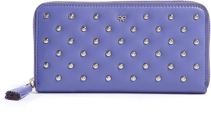Anya Hindmarch Studded Leather Joss Wallet