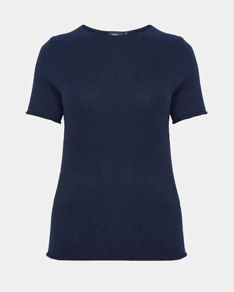 Theory Rolled Cashmere Tee