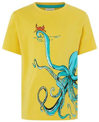 Monsoon Octavio Octopus Tee