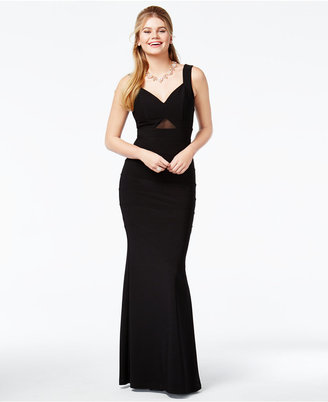 Emerald Sundae Juniors' Illusion Sweetheart Gown $69 thestylecure.com