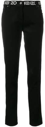 Kenzo logo skinny jeans
