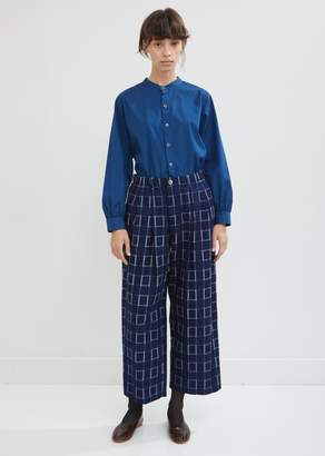 Blue Blue Japan Flannel Relaxed Pants