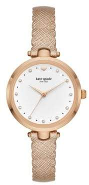 Kate Spade Holland Scalloped Strap Watch