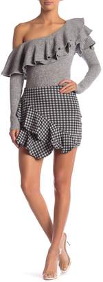 Sugar Lips Sugarlips Shirley Gingham Mini Skirt