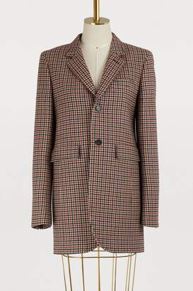 Balenciaga Shaped single breasted jacket